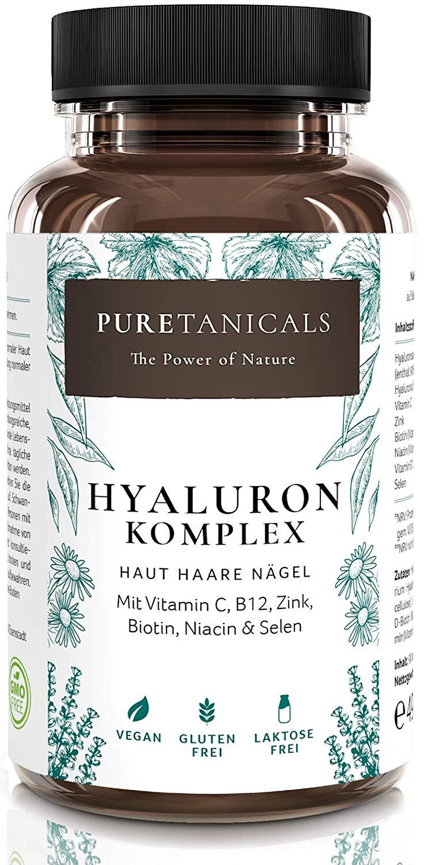 capsulas acido hialuronico puretanicals