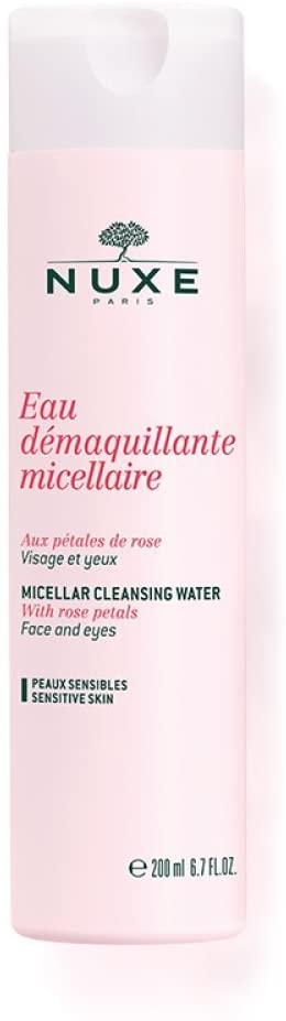 Nuxe Agua Desmaquillante Micelar con Pétalos de Rosa