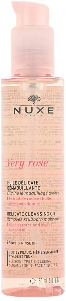 Nuxe Very Rose Huile Délicate Démaquillant
