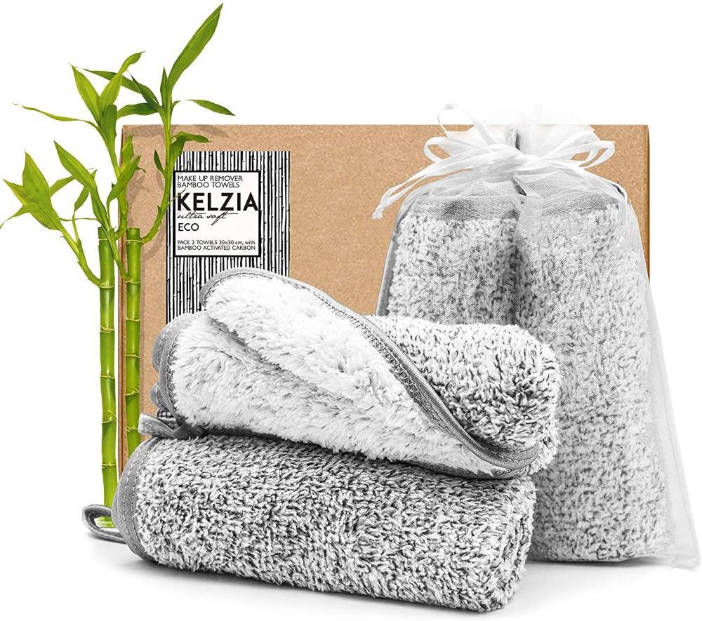 Toallas Desmaquillantes Reutilizables Kelzia