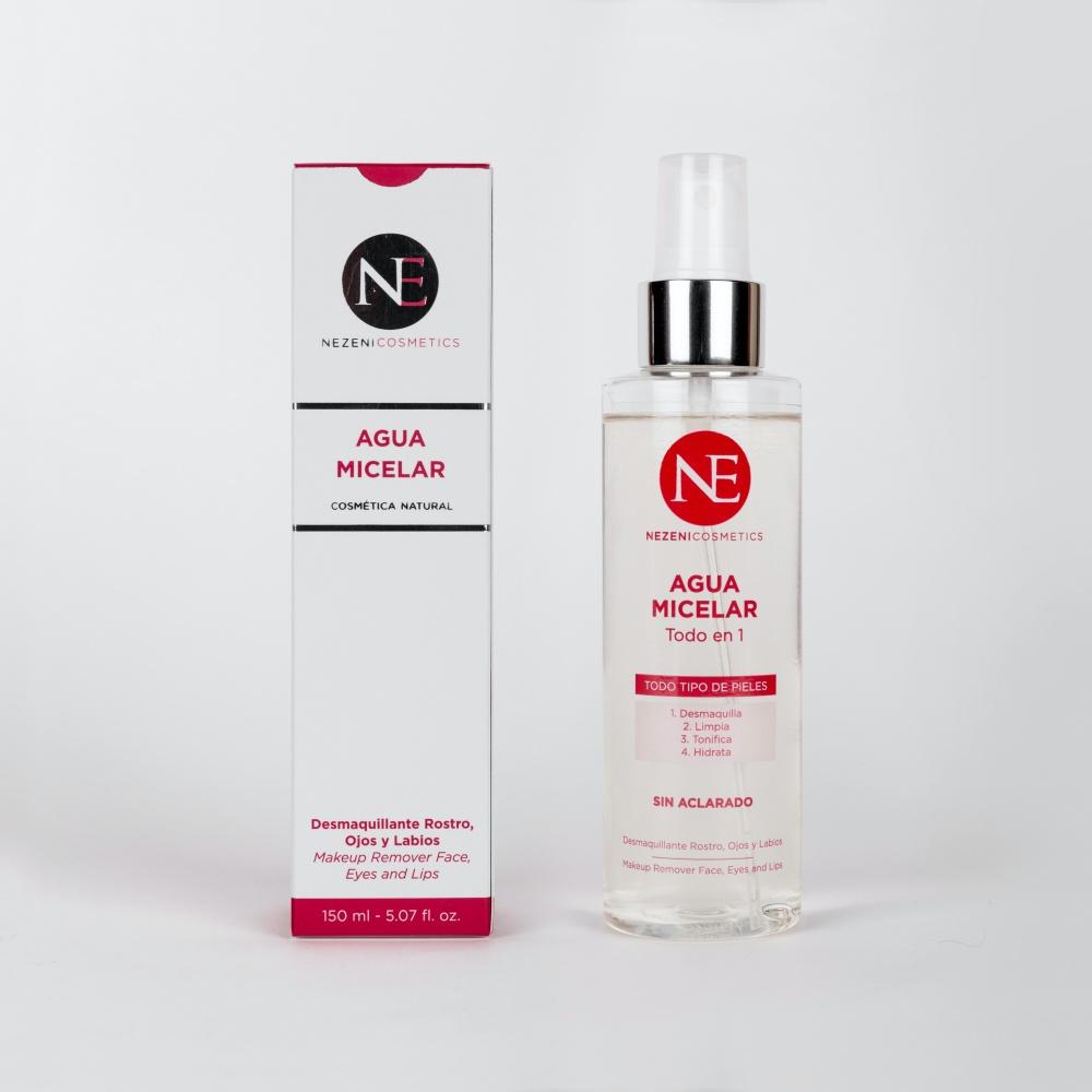 Agua Micelar Todo en 1 de Nezeni Cosmetics