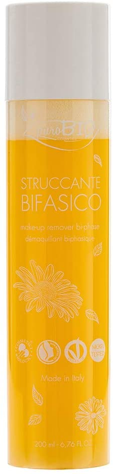 Loción Desmaquillante Bifásica de puroBIO Cosmetics