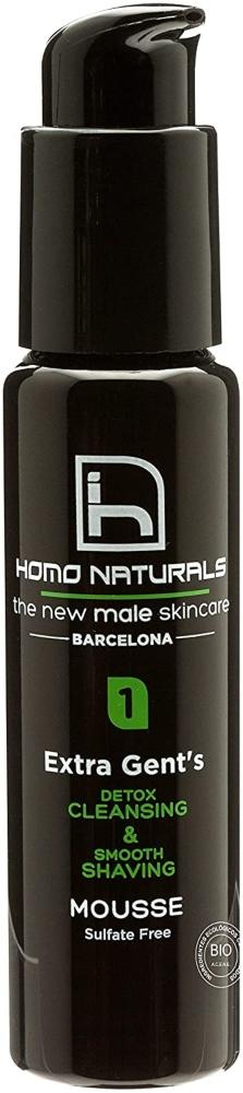 Homo Naturals Extra Gent'S Espuma Limpiadora Detox para el Afeitado